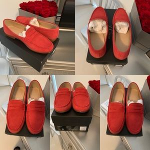 James Suede Loafers